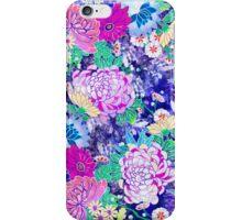 Oriental flowers iPhone Case/Skin