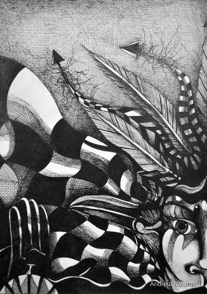 Dostoevsky (the Raven). by Andy Nawroski