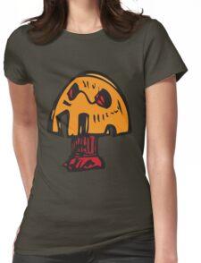 Crazy Mushroom Womens Fitted T-Shirt