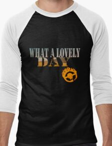 What A Lovely Day Men's Baseball ¾ T-Shirt