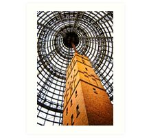 Plaza Tower, Melbourne Art Print