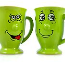 One mug says to another mug... by Sandra O'Connor