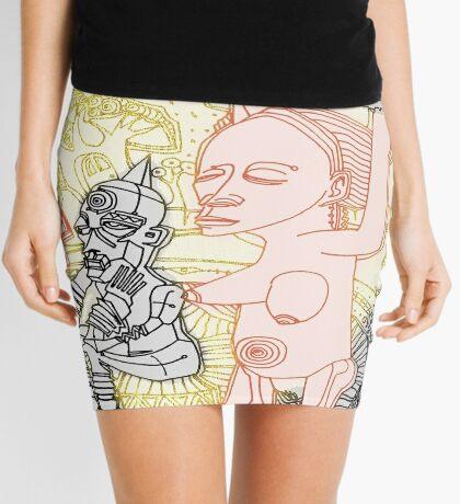 detail thru my doors Mini Skirt