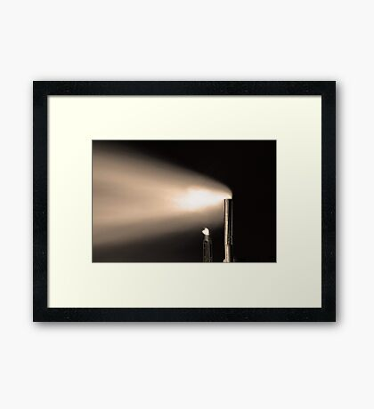 Smoke Stack  Framed Print