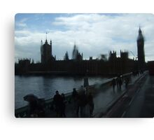 Typical London Canvas Print