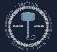 Mjolnir, Made in Asgard by orengito82