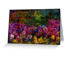 Beautiful Keukenhof Park Spring Flowers Greeting Card