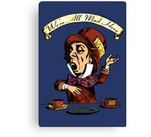 The Mad Hatter. Canvas Print