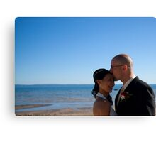 Sandy and Mark Canvas Print