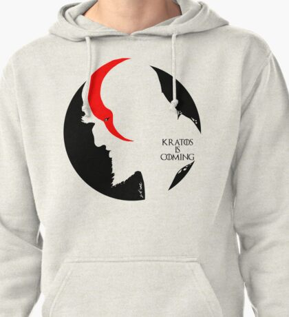 Kratos is coming Pullover Hoodie
