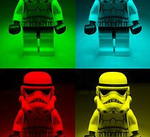 Dave Stormtrooper  Collage  by apawdesign