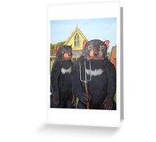 Tasmanian Gothic Greeting Card