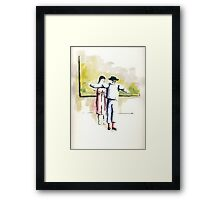 Once upon a time .....    3 Framed Print