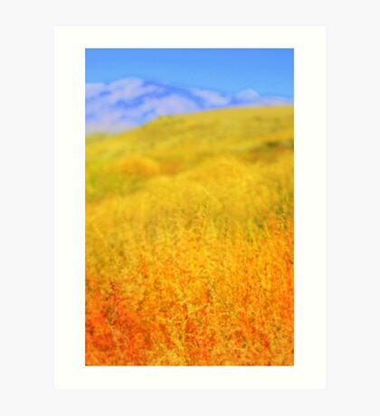 High Desert Autumn Art Print