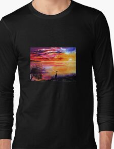 Colours of Sunset   Long Sleeve T-Shirt