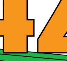 42 Geek Street Design 2 Sticker