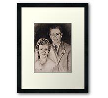 Ma & Pa Mac Framed Print