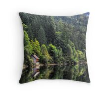 Altausseer See Throw Pillow