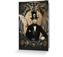 Handsome Devil Greeting Card
