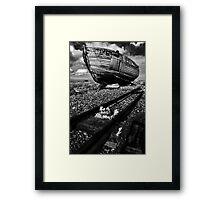 Desolate Framed Print