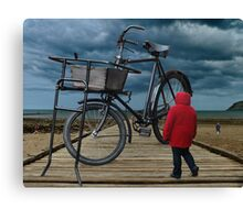 It's all a Matter of Scale Canvas Print