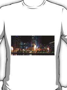 Flames at SouthBank Melbourne T-Shirt