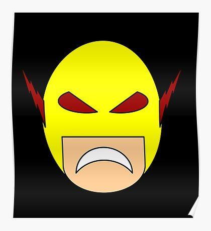Reverse Flash / Professor Zoom Egghead Poster