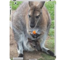 What's That You're Eating Mum? - Wallaby iPad Case/Skin