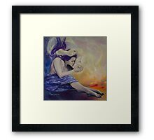A Heaven For Two Framed Print