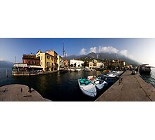 Malcesine Panorama Photographic Print