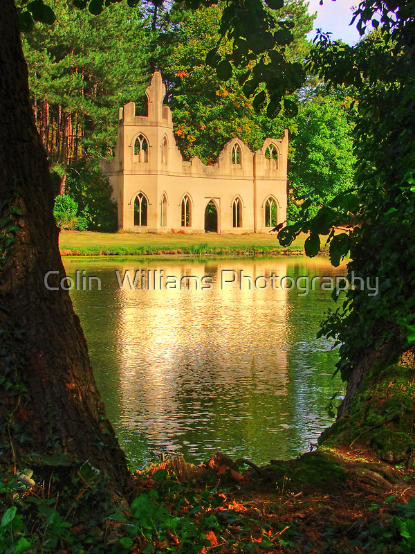 The Restored Abbey Ruins Painshill Park - HDR by Colin  Williams Photography