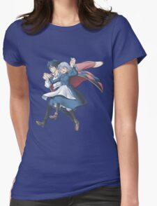 Come Fly With Me (no clouds version) Womens Fitted T-Shirt