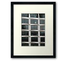 Office Block Framed Print