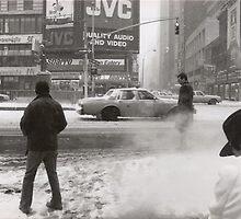 NY storm - march 93 by Sonia de Macedo-Stewart
