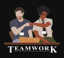 IT Crowd Teamwork