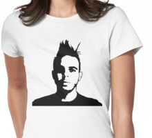 Dan on Any Colour Womens Fitted T-Shirt