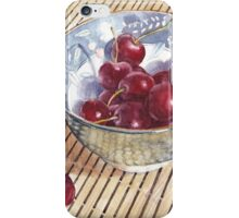 Cherries on Bamboo iPhone Case/Skin