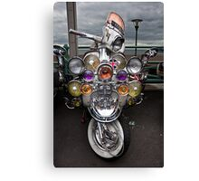 Scooter mania. Canvas Print