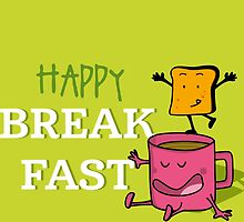 Happy Breakfast - 2 by Alfons Freire