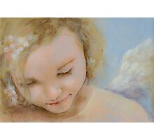 Caring Angel Photographic Print