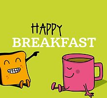 Happy Breakfast - 1 by Alfons Freire