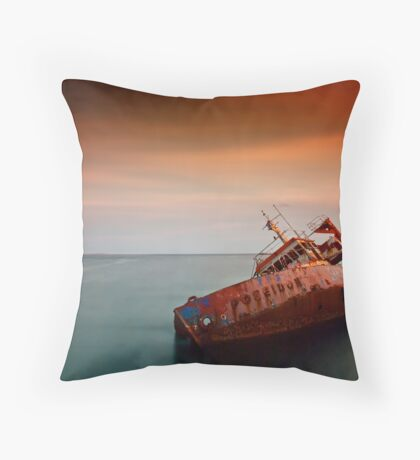 Fallen Poseidon Throw Pillow