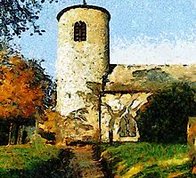 St Mary's Church, Syderstone, Norfolk by Dennis Melling