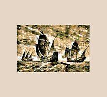 Columbus' ships - The Santa Maria, Nina and Pinta  Unisex T-Shirt