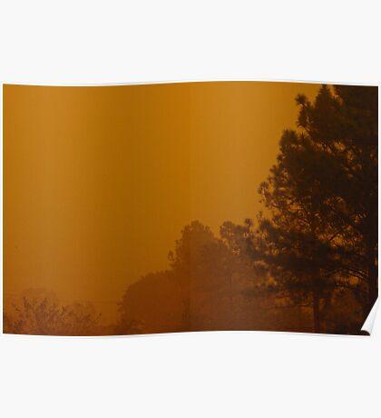 Queensland dust storm 2009 Poster