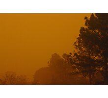 Queensland dust storm 2009 Photographic Print