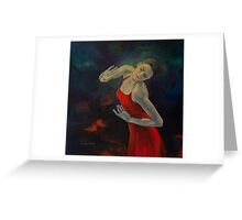 Shape Of My Heart... Greeting Card