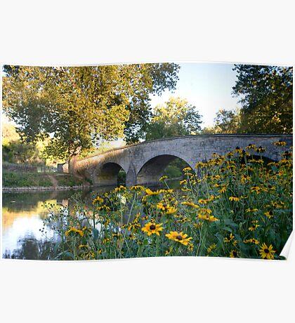 The Stone Bridge over Antietam Creek Poster