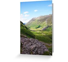 View of Glencoe Greeting Card