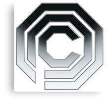 OCP Logo - Robocop Canvas Print